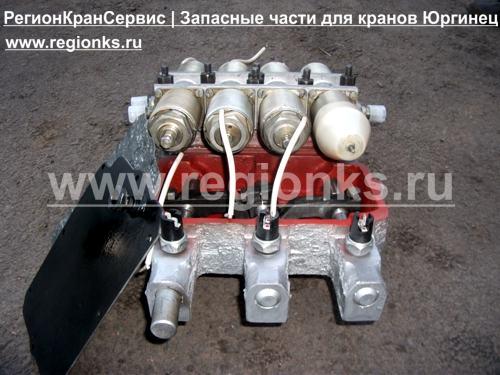 Механизм переключения передач для крана КС-4372Б Юргинец